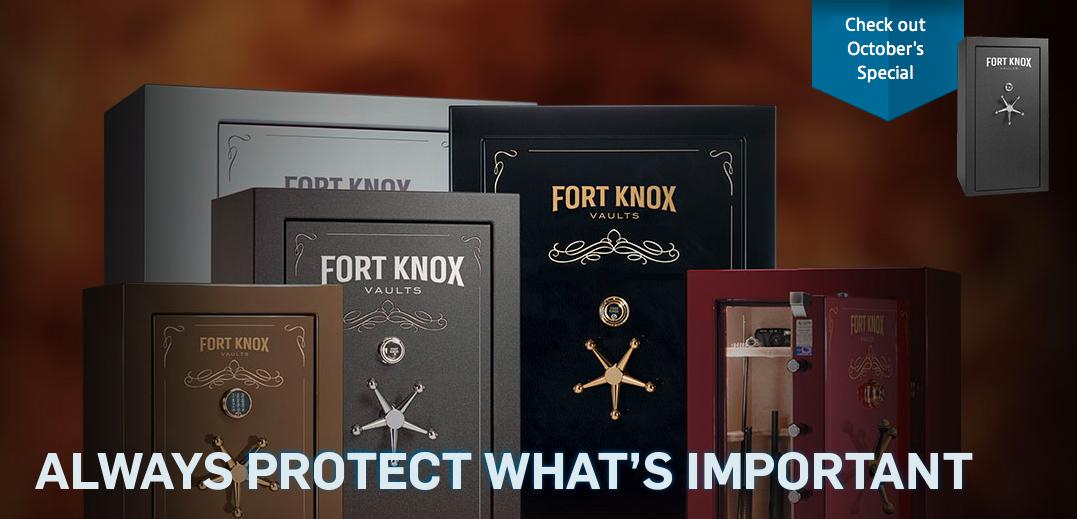 Fort Knox Gun Safes for Sale