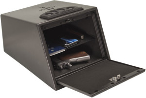 Liberty Handgun Vault Safe Door Open Interior