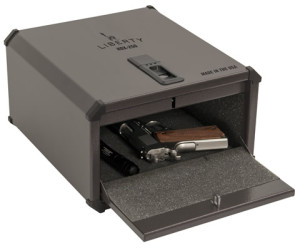 Liberty Smart Handgun Vault Door Open Interior