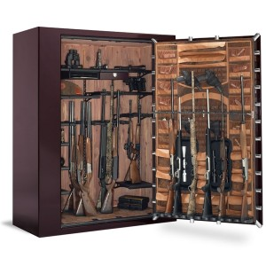 Browning Platinum Plus Gun Safe Door Open