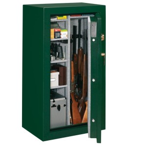 Stack-On Elite Safe Door Open