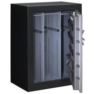 Stack-On Total Defense Safe Door Open