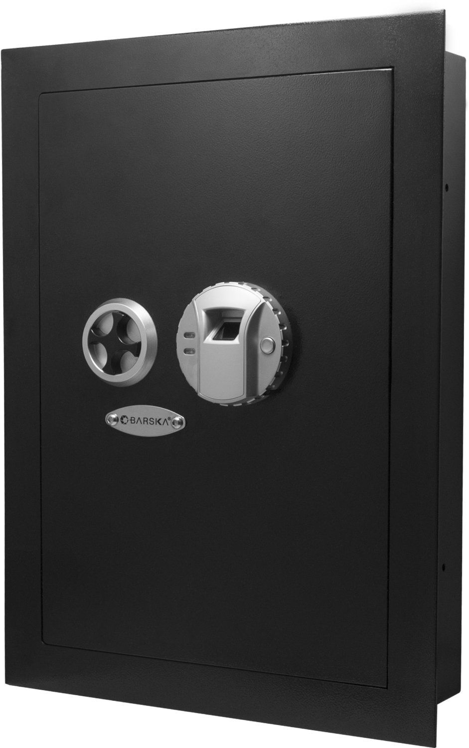 gun safe in wall
