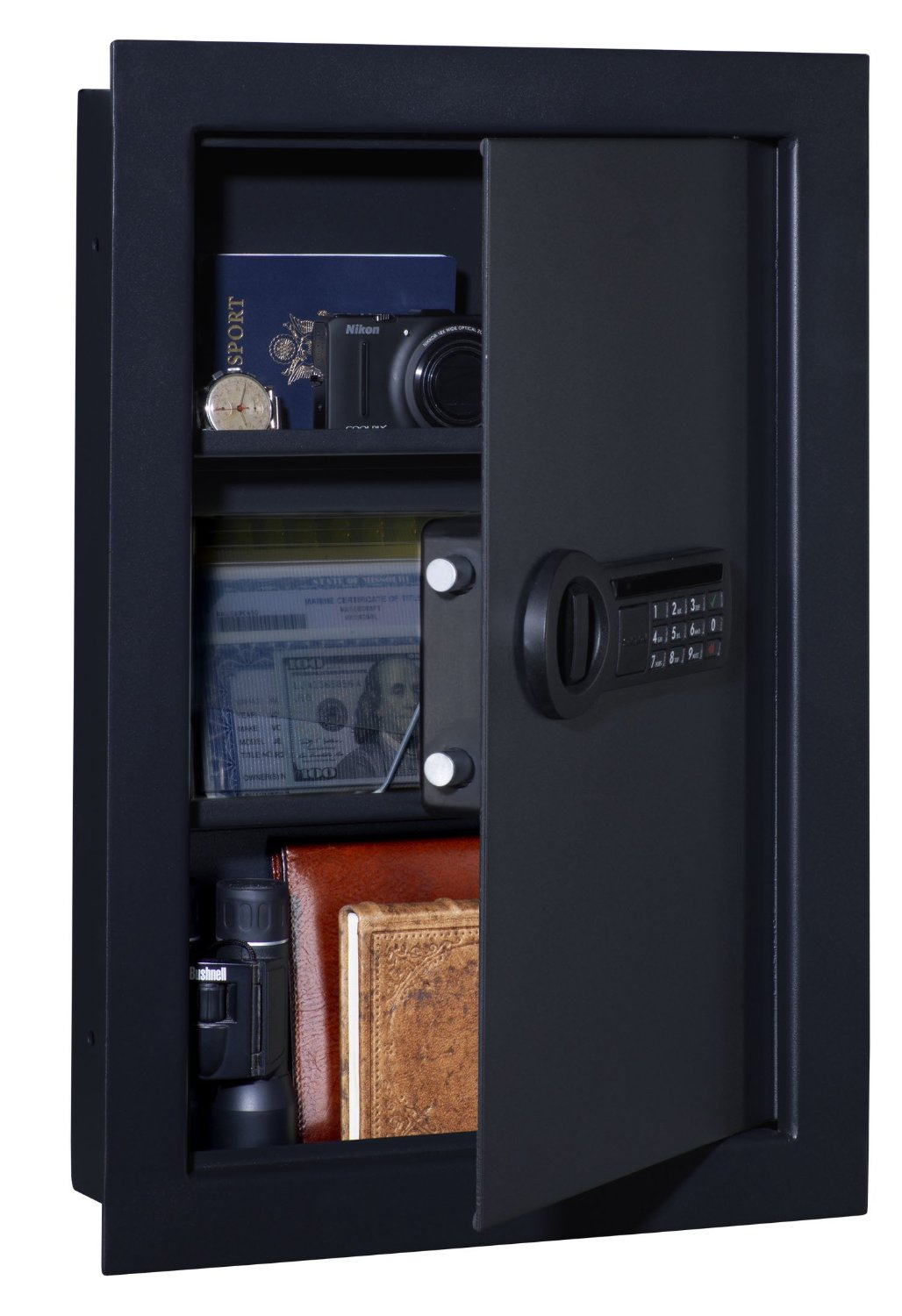Top 5 best in wall gun safes 2016 hidden wall safe reviews in wall shotgun safe amipublicfo Image collections