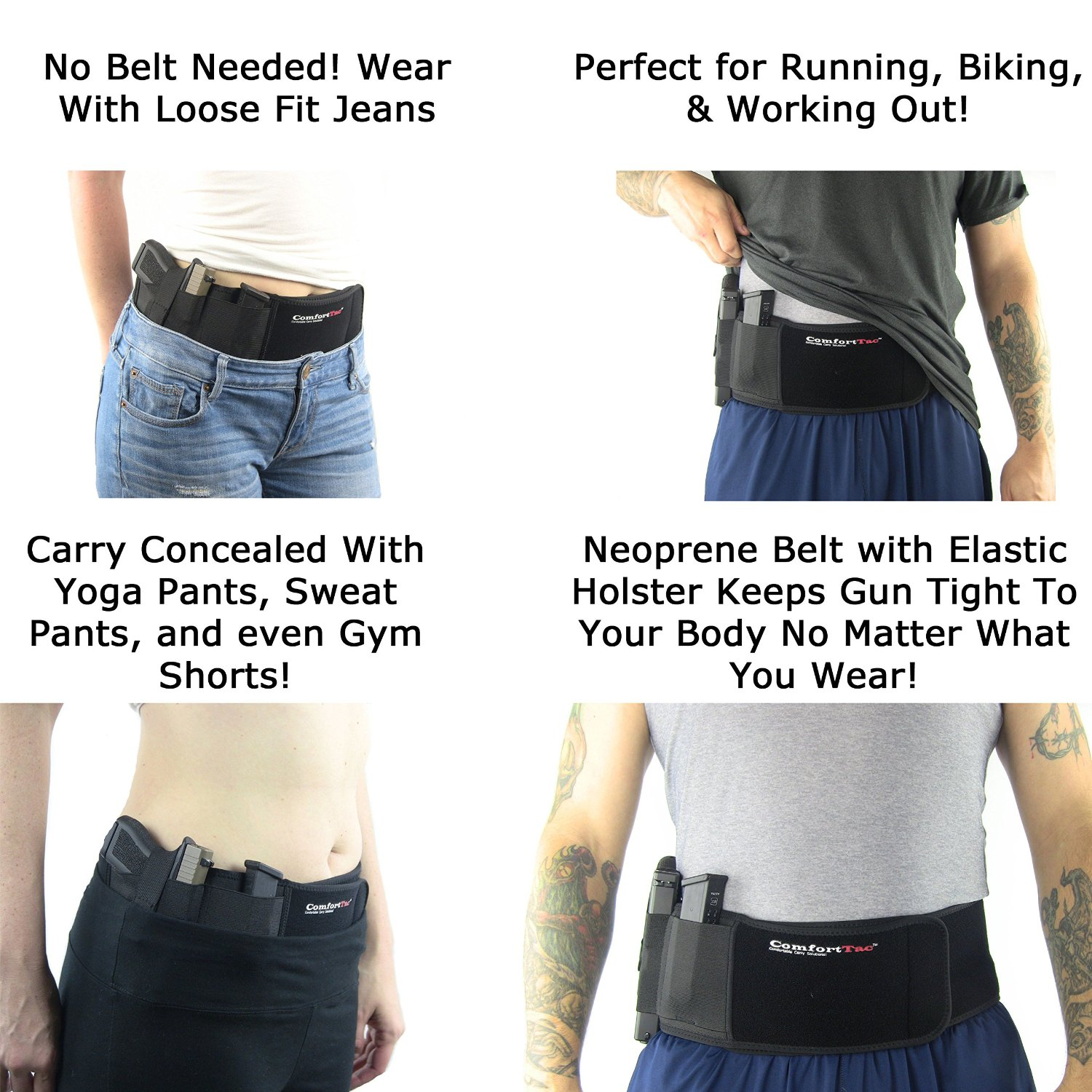 Top 5 Best Belly Band Holsters: Belly Band Concealment