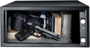 gun safe bed