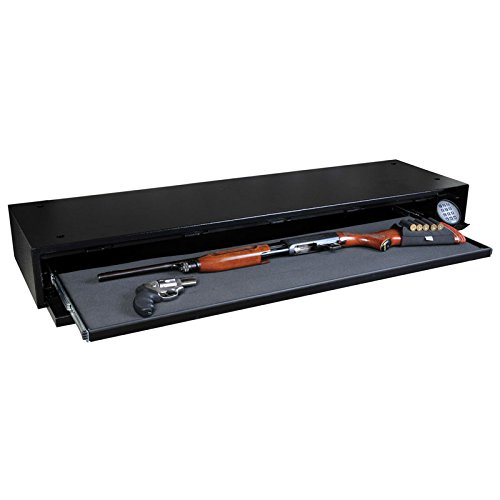 gun safe under bed