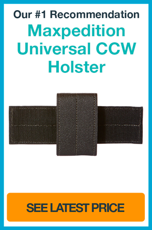 Top 5 Best Concealed Carry Holsters: CCW Holster Reviews