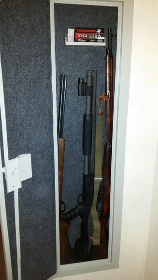 Long Gun Safe In Wall